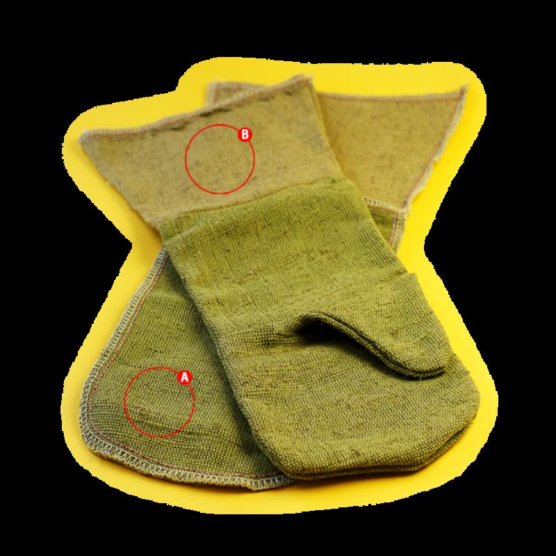 Краги брезентовые ОП1 (пл. 480)